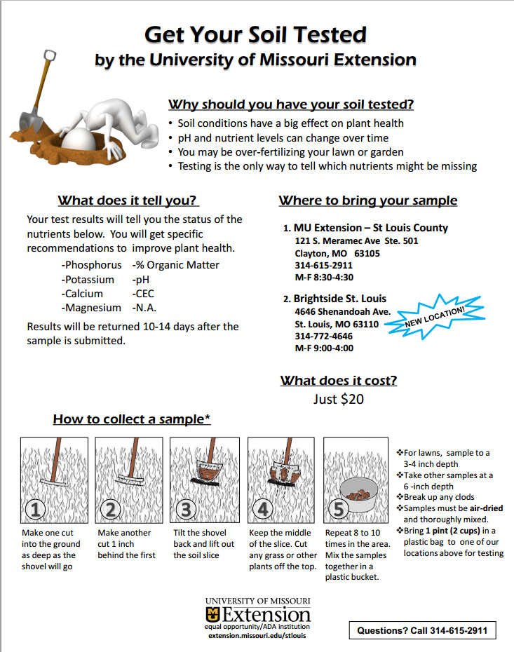 Soil butterfly gardening page 4 for Soil testing
