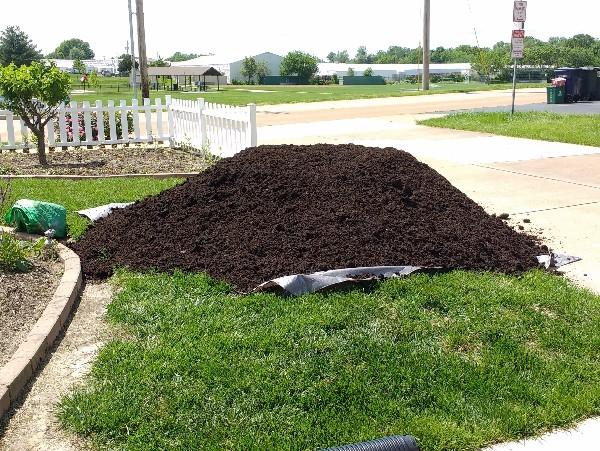 Mulch Butterfly Gardening