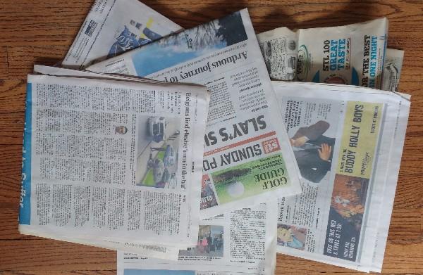 newspaper -600